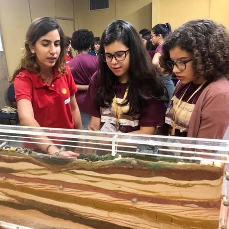 Projeto Meninas com Ciência, do Museu Nacional da UFRJ Foto: Divulgação