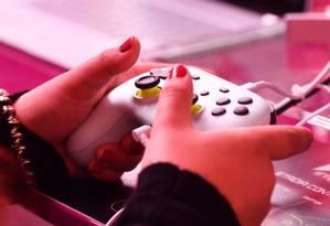O Google Stadia permite a transmissão de jogos da nuvem para TVs, computadores e smartphones Foto: Ina Fassbender / AFP