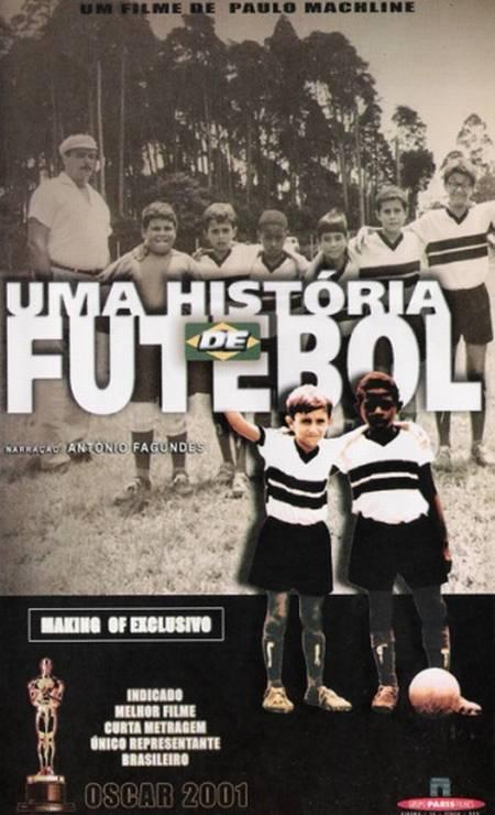 """""""Uma história de futebol"""", de Paulo Machline, disputou o prêmio de melhor Curta-Metragem em 2000 Foto: Divulgação"""