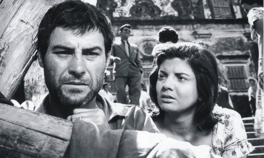 """O primeiro filme brasileiro, brasileiro mesmo, indicado ao Oscar foi o clássico """"O Pagador de promessas"""", de Anselmo Duarte. Mas o Oscar de Filme Estrangeiro em 1963 foi para """"Sempre aos domingos"""", de Serge Bourguinon. Foto: Divulgação"""