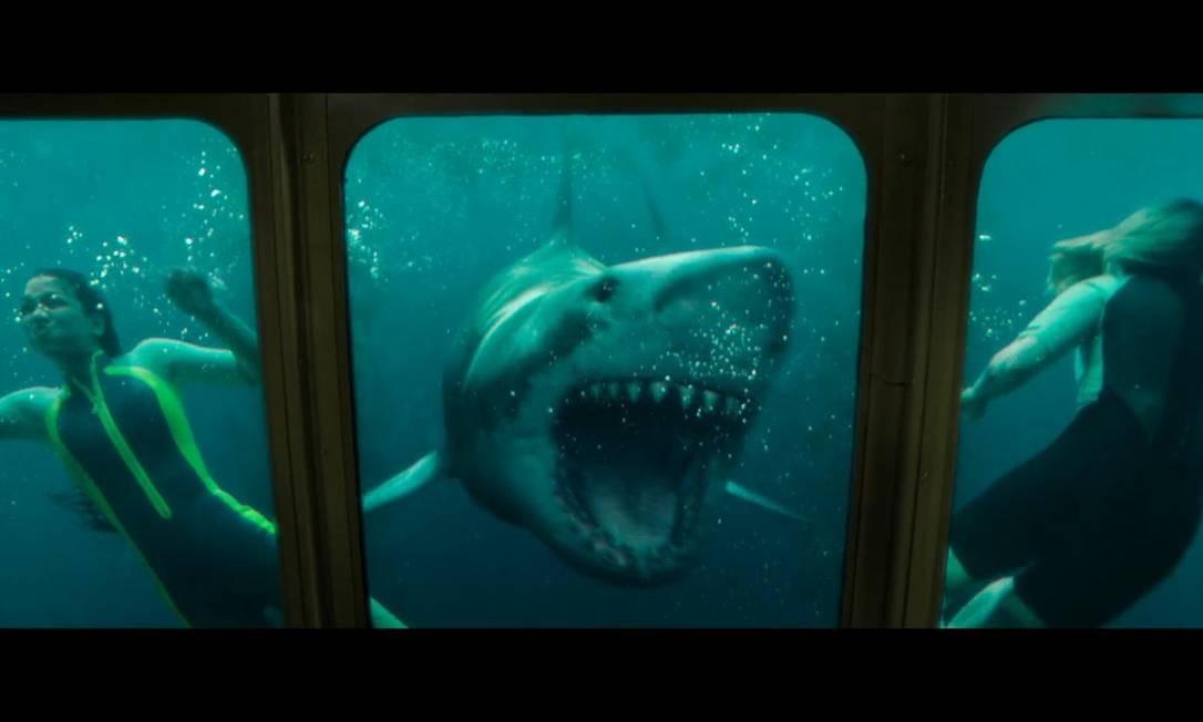 Cena do filme 'Medo profundo - O segundo ataque' Foto: Divulgação