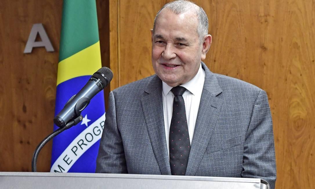 O desembargador Gesivaldo Nascimento Britto durante solenidade em Brasília Foto: Emerson Leal / STJ