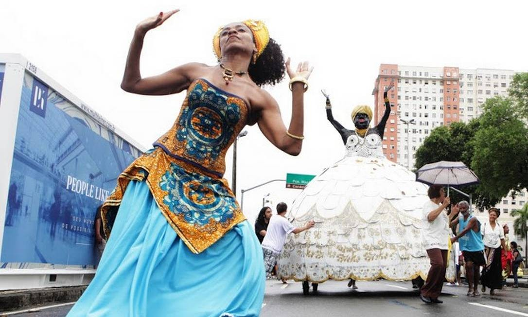 Cortejo da Tia Ciata: uma das atrações para o feriado Foto: Divulgação