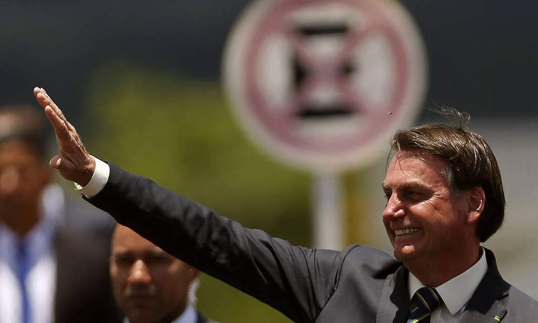 O presidente Jair Bolsonaro 19/11/2019 Foto: Jorge William / Agência O Globo