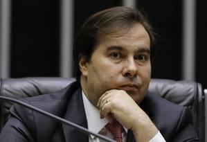 O presidente da Câmara, Rodrigo Maia 19/11/2019 Foto: Jorge William / Agência O Globo