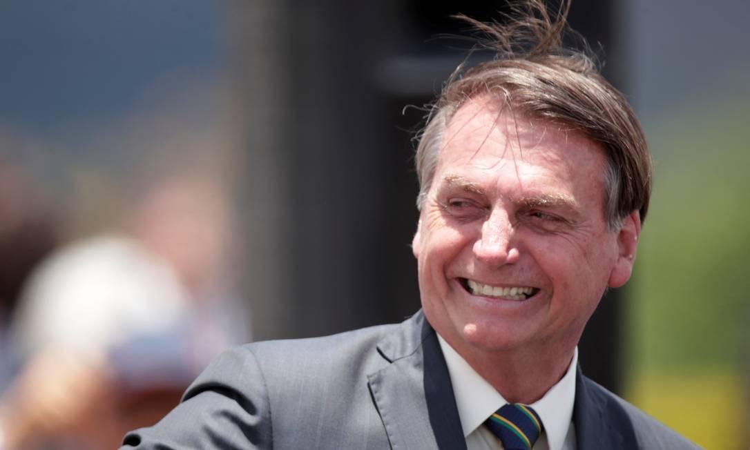 O presidente Jair Bolsonaro deixou o PSL e vai criar uma nova legenda Foto: Ueslei Marcelino / Reuters