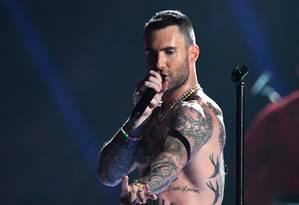 Adam Lavine do Maroon 5 Foto: Divulgação/Super Bowl