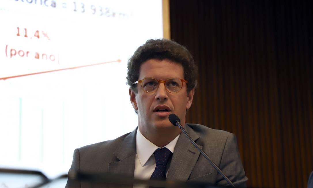 O ministro do Meio Ambiente, Ricardo Salles Foto: Neila Rocha / Ascom MCTIC