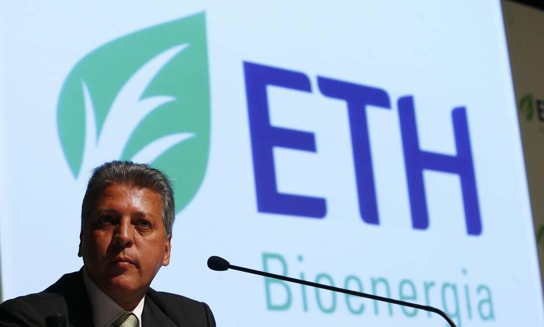 Em 2010, José Carlos Grubisich estava à frente da ETH Bioenergia Foto: ELIÁRIA ANDRADE / AGÊNCIA O GLOBO
