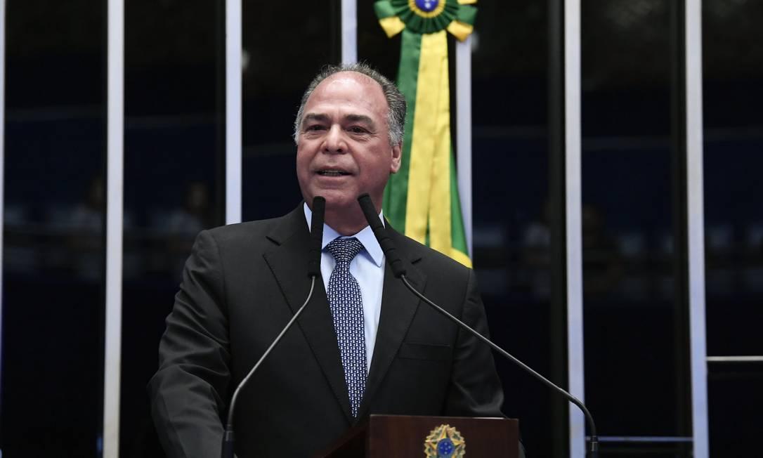 Fernando Bezerra Coelho: PEC só no ano que vem. Foto: Geraldo Magela / Agência Senado