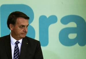 Aliança pelo Brasil, partido que o presidente Jair Bolsonaro quer criar, iniciou campanha para coleta de assinaturas nesta semana Foto: Jorge William / Agência O Globo