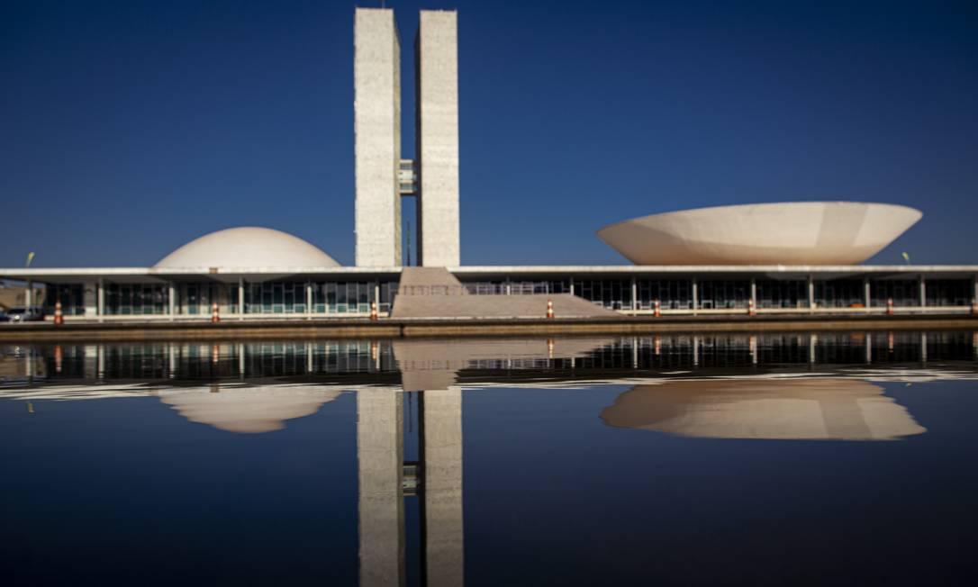 O Congresso Nacional em Brasília Foto: Daniel Marenco / Agência O Globo