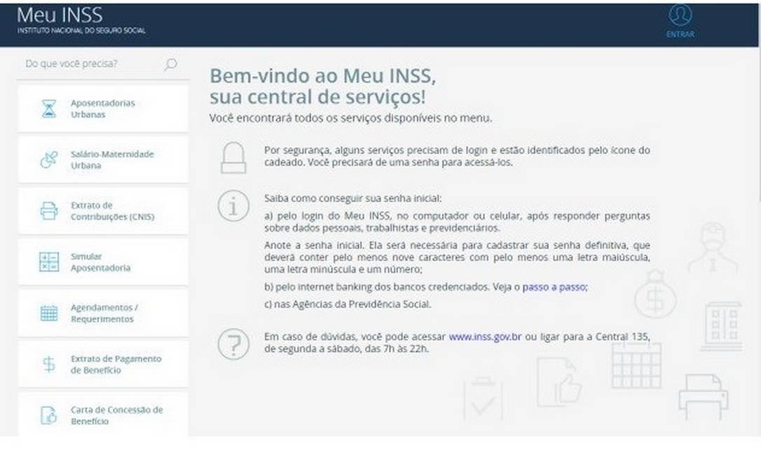 'Meu INSS', Que Reúne Dados Previdenciários De