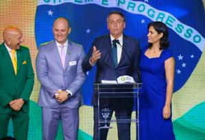 """Lançamento do novo partido de Bolsonaro """"Aliança pelo Brasil"""" Foto: Reprodução/Facebook"""