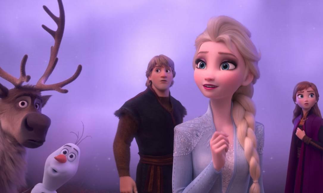 Frozen 2 Faz A Maior Estreia Mundial Para Um Desenho Animado Da