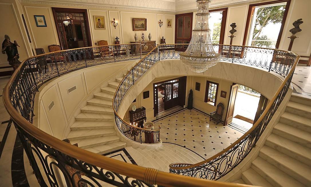 O hall de entrada Foto: Divulgação
