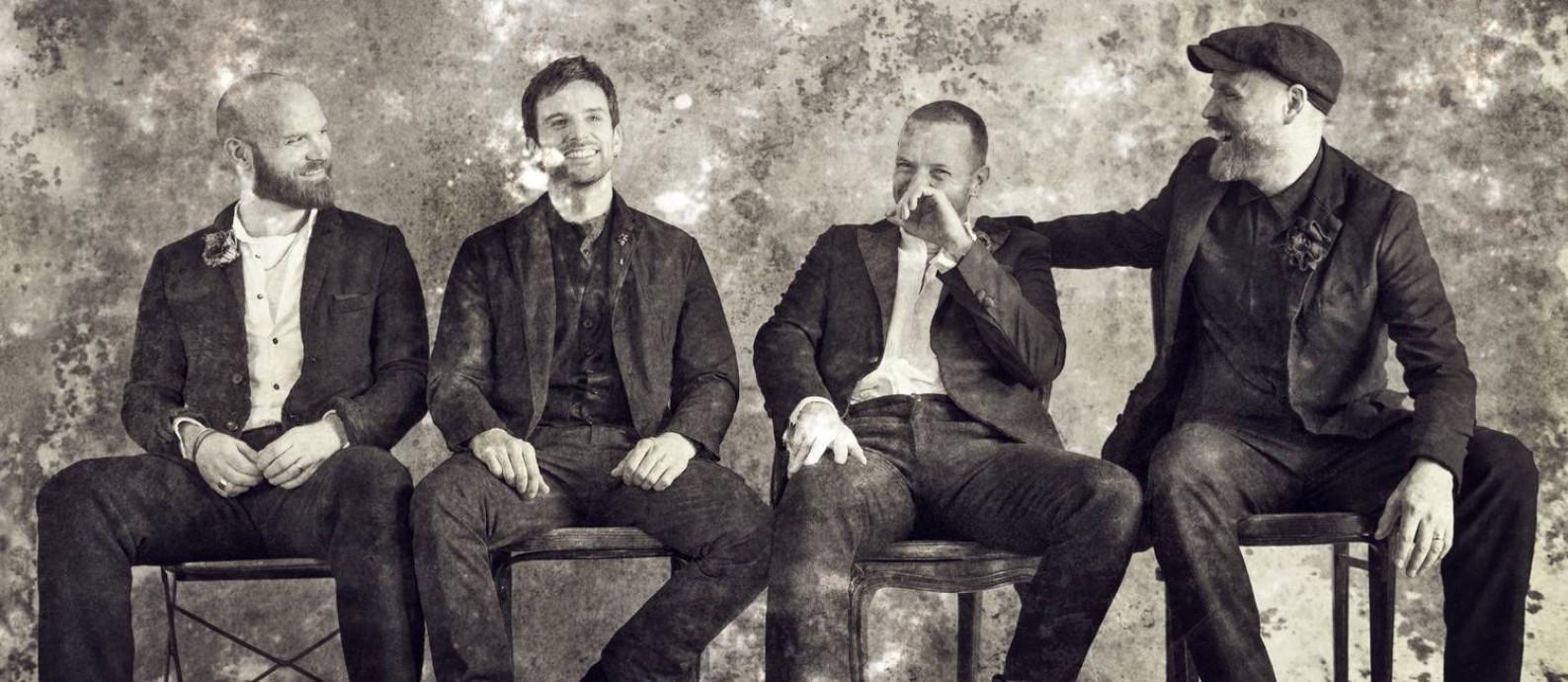 O grupo inglês Coldplay Foto: Divulgação