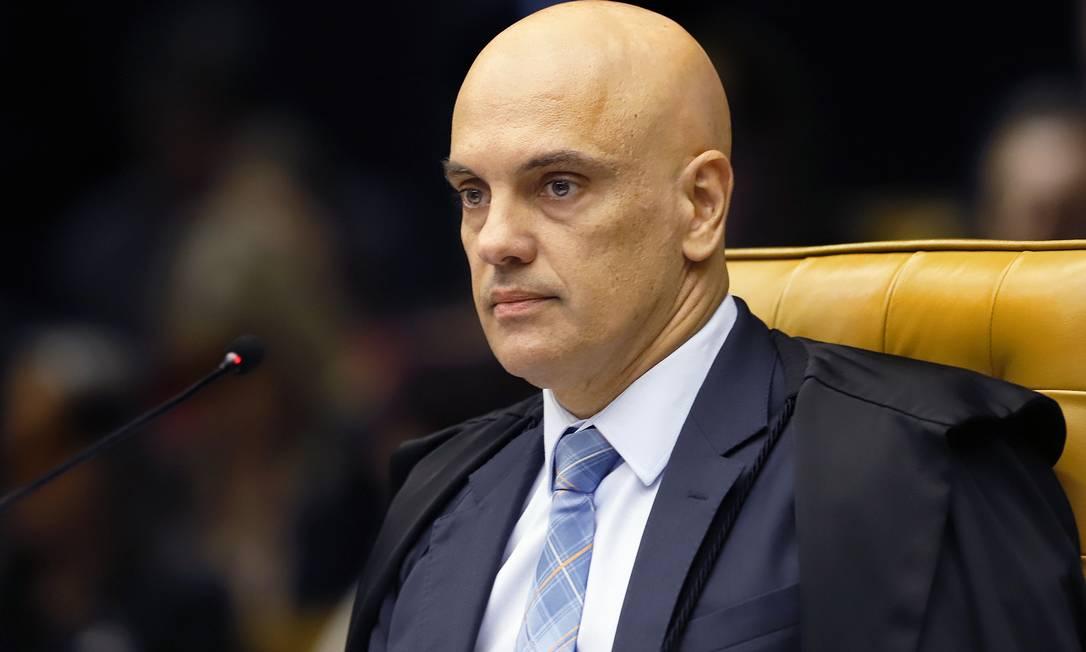 O ministro do STF Alexandre de Moraes Foto: Divulgação