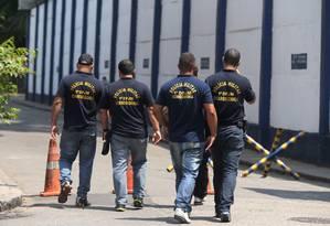 PM cria nova unidade da DPJM para investigações complexas Foto: Fabiano Rocha / Agência O Globo