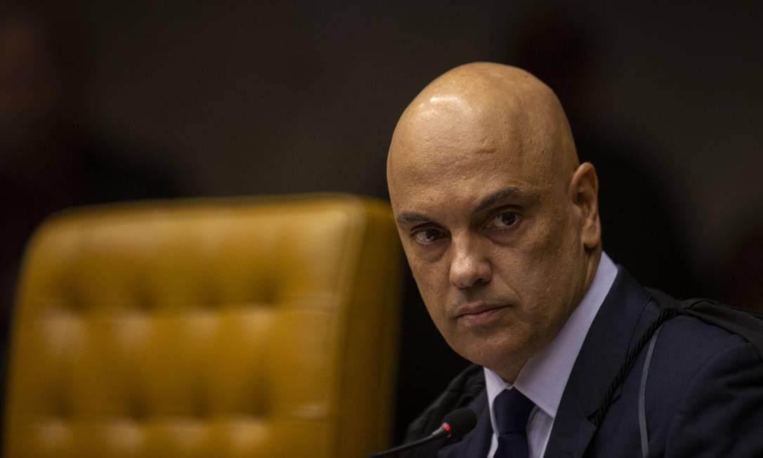 O ministro Alexandre de Moraes. Foto: Daniel Marenco / Agência O Globo