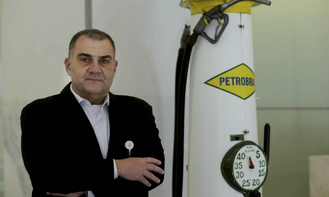 Rafael Grisolia, presidente da BR Distribuidora Foto: Marcelo Theobald / Agência O Globo