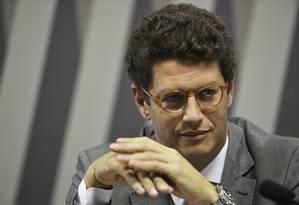O ministro do Meio Ambiente, Ricardo Salles Foto: Fabio Rodrigues Pozzebom/Agência Brasil