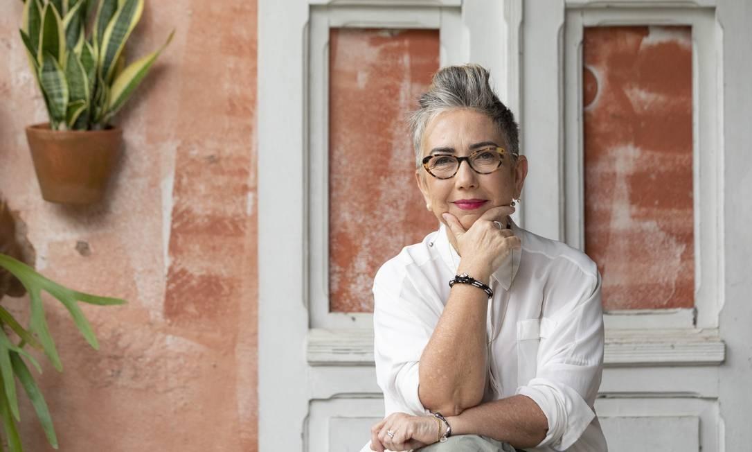 Claudia Werneck. Jornalista e escritora fundou a ONG Escola de Gente, em 2002 Foto: Ana Branco / Ana Branco