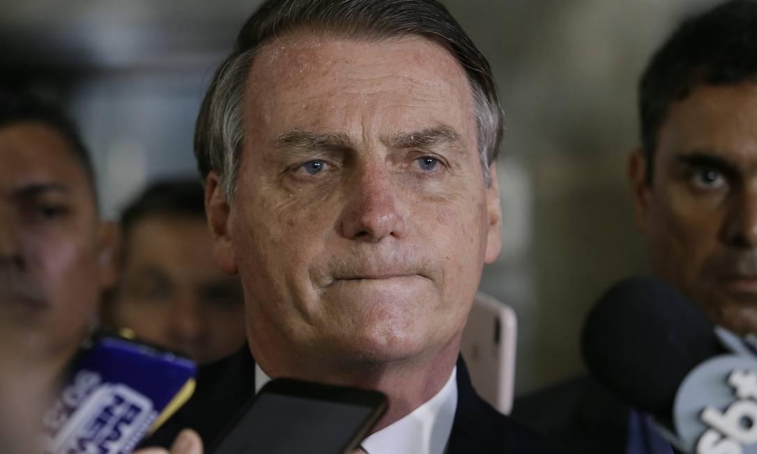 O presidente Jair Bolsonaro 22/11/2019 Foto: ANTONIO SCORZA / Agência O Globo