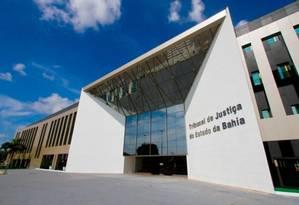 Prédio do Tribunal de Justiça do Estado da Bahia Foto: Divulgação