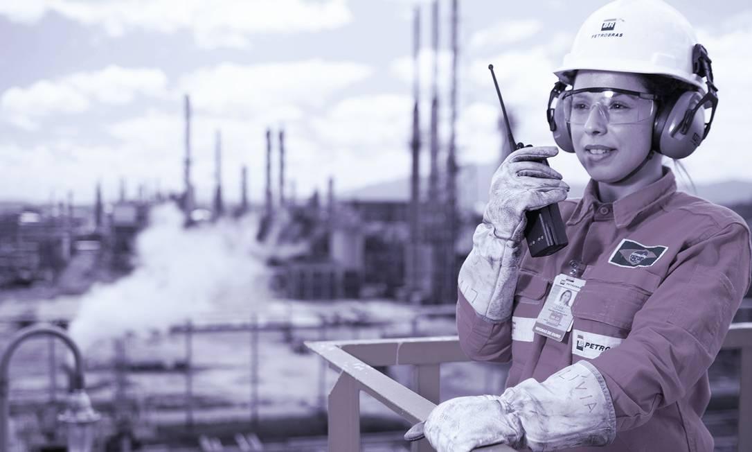 Lívia Santiago - Coordenadora de Operações da Reduc / Petrobras. Foto: Gabriel Monteiro Foto: .