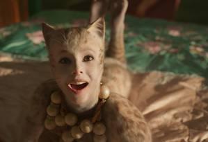 Taylor Swift em 'Cats' Foto: Universal Pictures / Divulgação/Universal Pictures