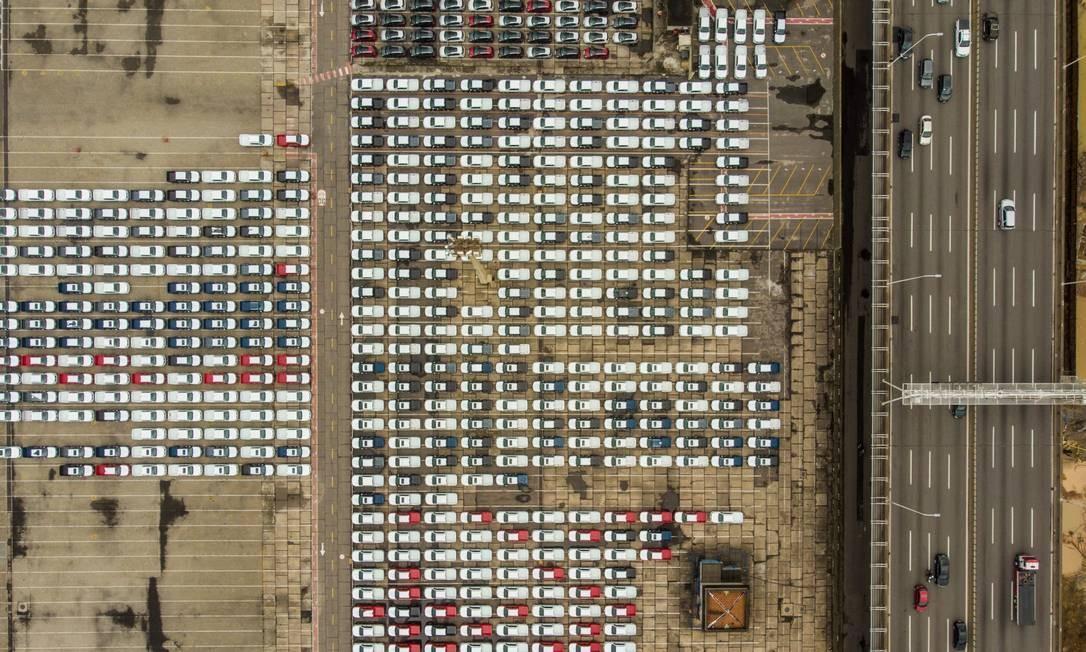 Queda nas exportações teve impacto nas contas externas brasileiras Foto: Brenno Carvalho