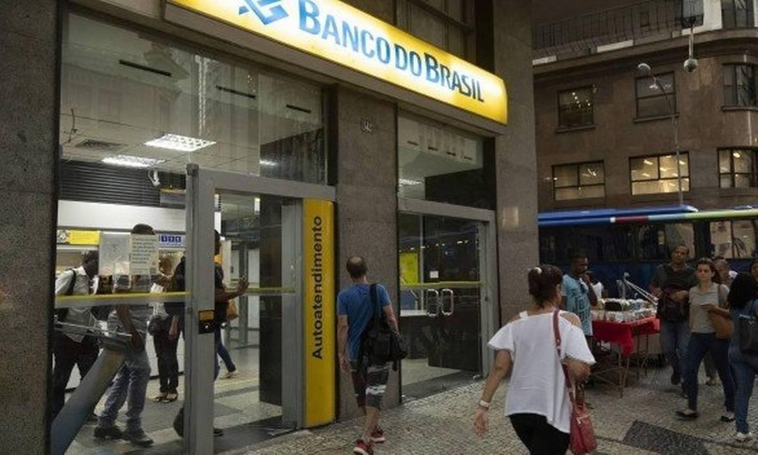 Renegociação poderá ser feita nas agências do BB ou nos canais digitais Foto: Gabriel Monteiro/Agência O Globo