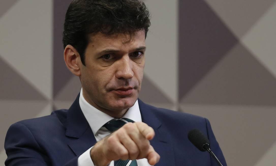 Marcelo Álvaro Antônio, ministro do Turismo Foto: Jorge William / Agência O Globo