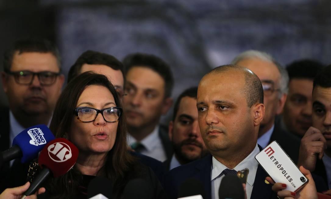 O deputado Major Vitor Hugo (GO) disse que espera o resultado do processo para determinar a estratégia Foto: Jorge William / Agência O Globo