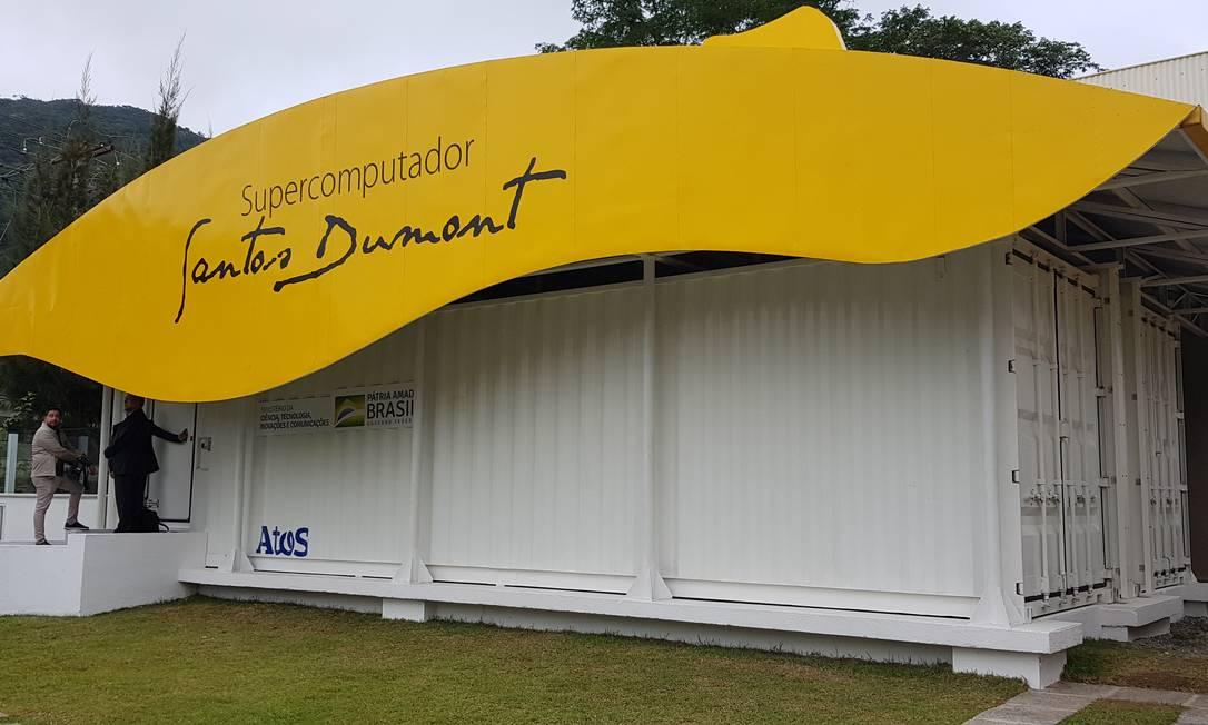 Supercomputador Santos Dumont: 5,1 quatrilhões de operações por segundo. Foto: O Globo
