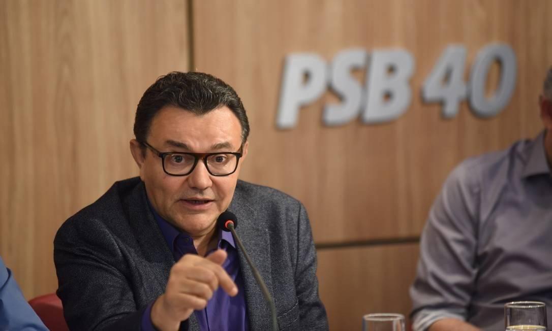 Carlos Siqueira, o presidente do PSB Foto: Huberto Pradera / Agência O Globo