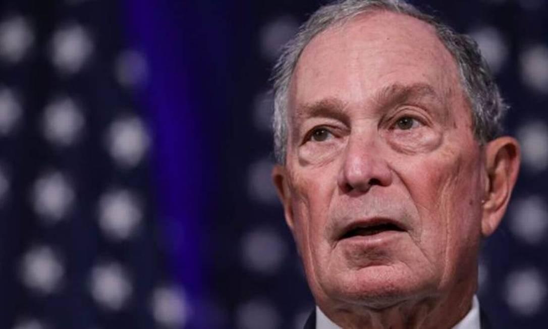 Bloomberg, de 77 anos, é a oitava pessoa mais rica do mundo Foto: Getty Images