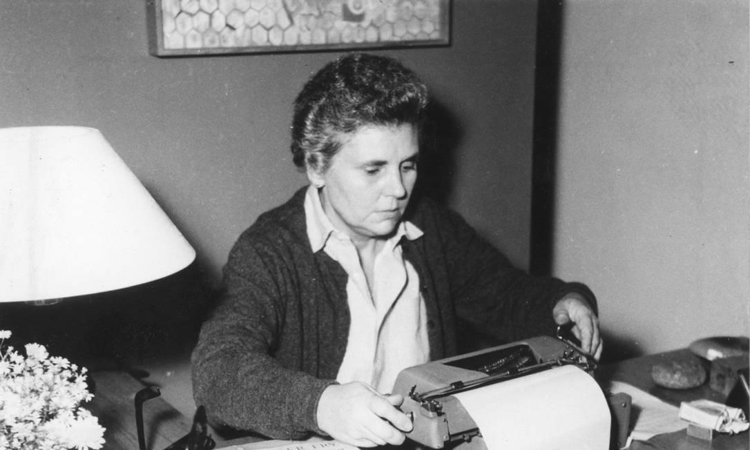 A poeta americana Elizabeth Bishop, homenageada da próxima Festa Literária Internacional de Paraty Foto: Divulgação