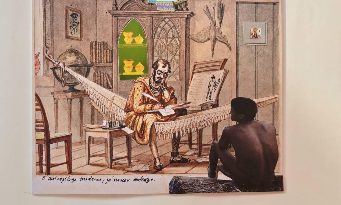 Denilson Baniwa: O antropologo moderno já nasceu antigo Foto: Divulgação