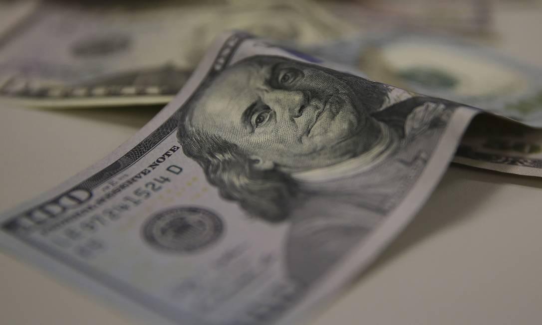 Dolar-Moeda estrangeira . Marcello Casal Jr / Agência Brasil Foto: Marcello Casal Jr / Agência O Globo