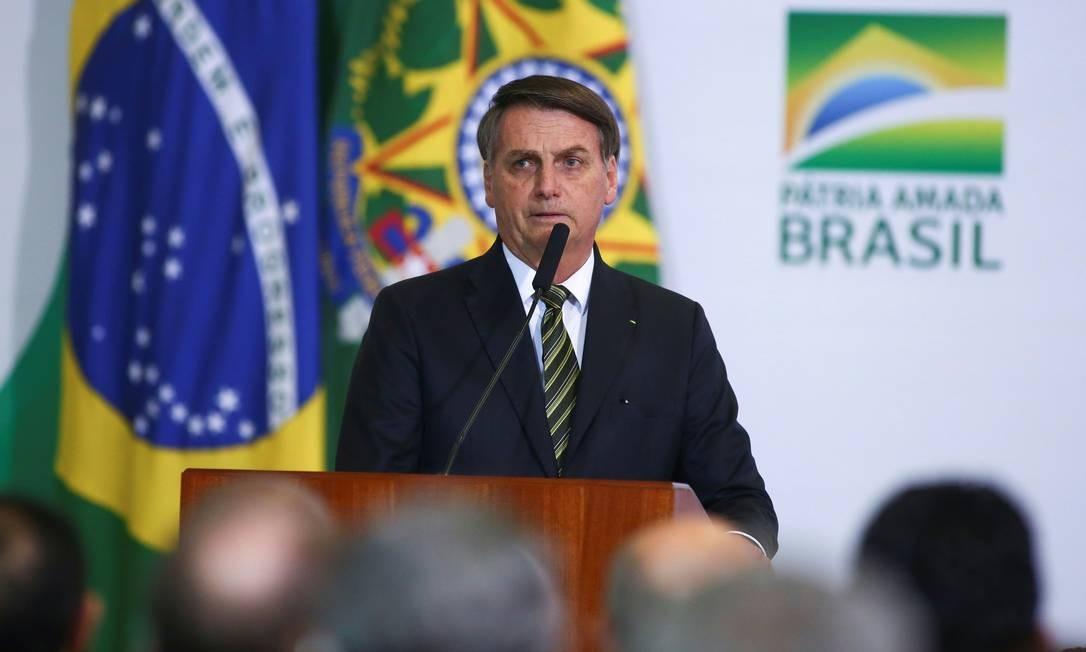 O presidente Jair Bolsonaro não foi convidado para a Flip 2020 Foto: Sergio Lima / AFP