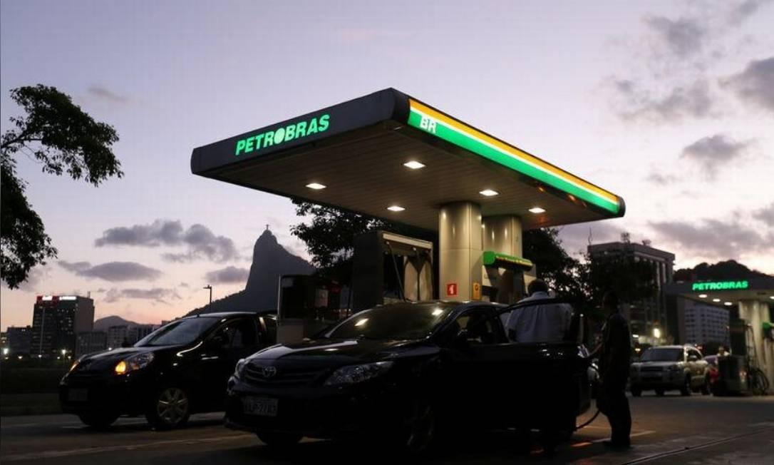 Posto da Petrobras Foto: Reuters