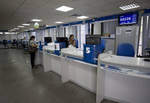 Agência do INSS: sistemas previdenciários no mundo devem levar em conta o envelhecimento da população, diz OCDE. Foto: Márcia Foletto / Agência O Globo