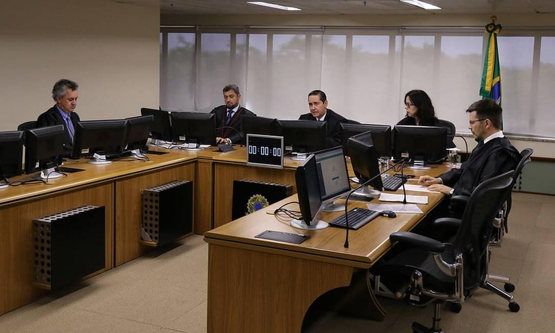 Desembargadores da 8ª Turma do Tribunal Regional Federal da 4ª Região (TRF-4) analisam recurso de Lula Foto: Divulgação