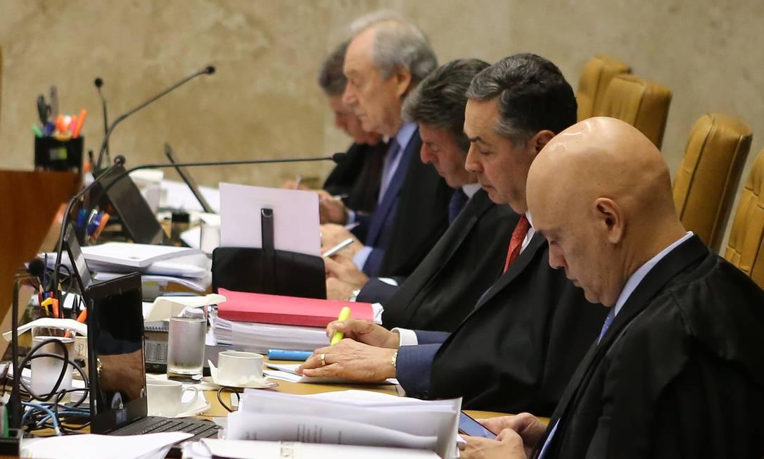 Supremo Tribunal Federal (STF) retoma julgamento de compartilhamento de dados da Receita e do antigo Coaf Foto: Jorge William / Agência O Globo