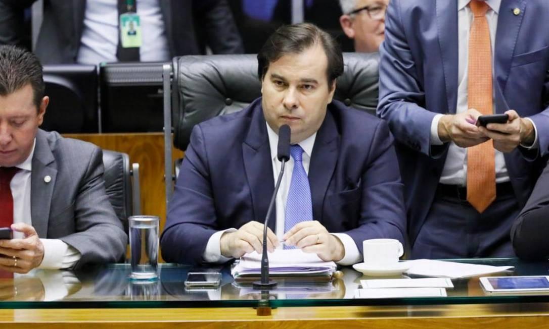 O presidente da Câmara, Rodrigo Maia (27/11/2019) Foto: Agência Câmara