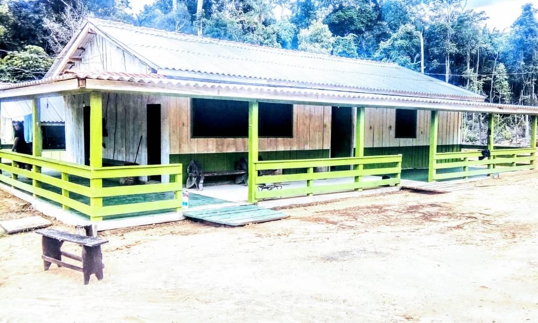 Base de Proteção Etnoambiental (Bape) localizada em Kawahiva do Rio Pardo, Mato Grosso Foto: Divulgação / Funai