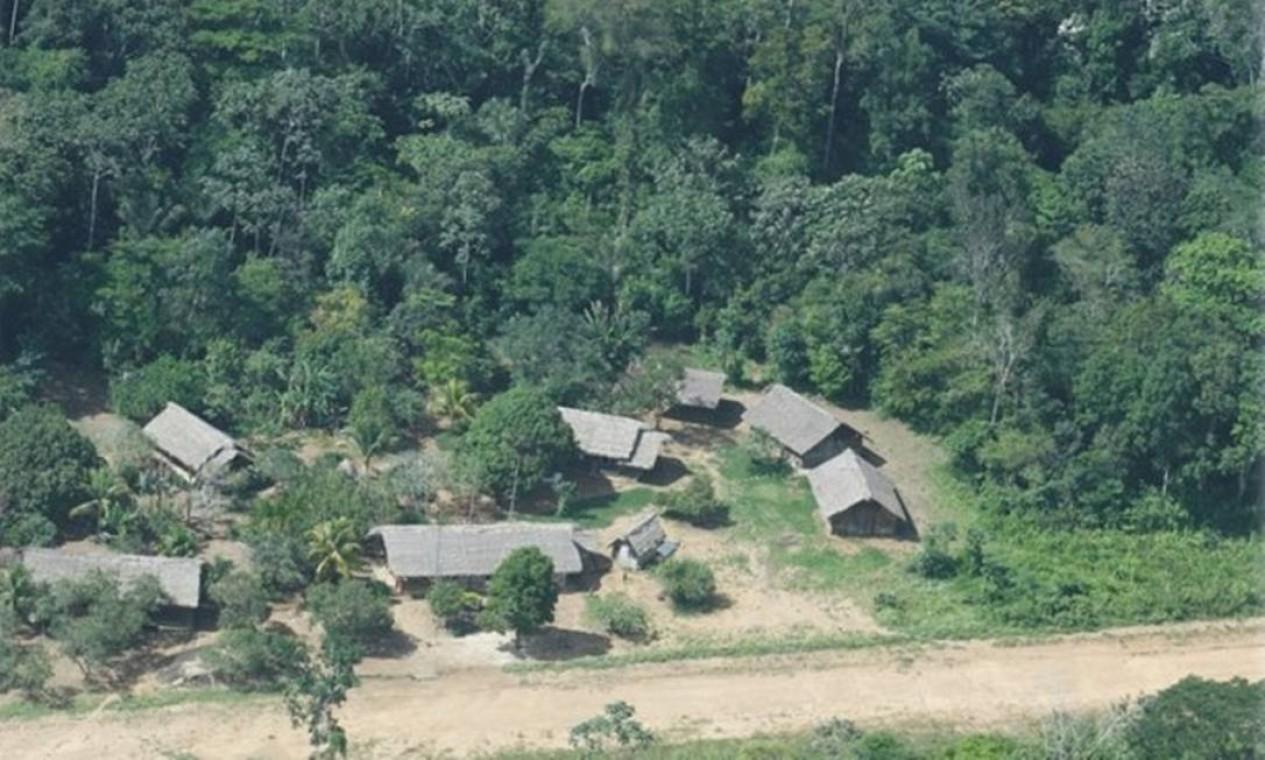 Bape da Tribo Indígena Zoé, no Pará Foto: Divulgação / Funai