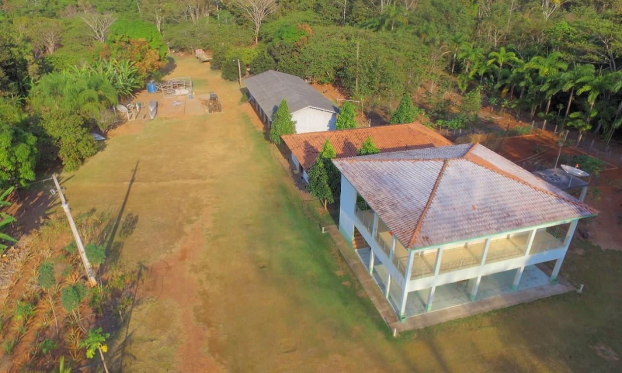 Base de Proteção Etnoambiental (Bape) Uru-Eu-Wau-Wau em Bananeira, Rondônia Foto: Divulgação / Funai